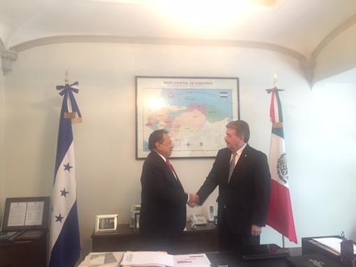 Foto: Cancillería Honduras.