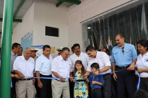 La planta inaugurada por el Presidente Hernandez