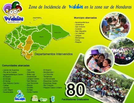 Mapa walabis