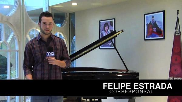 """Feliz Estrada es originario de La Ceiba, Honduras. Desde hace 13 años emigró a EEUU; hoy asegura estar cumpliendo su """"sueño americano""""."""
