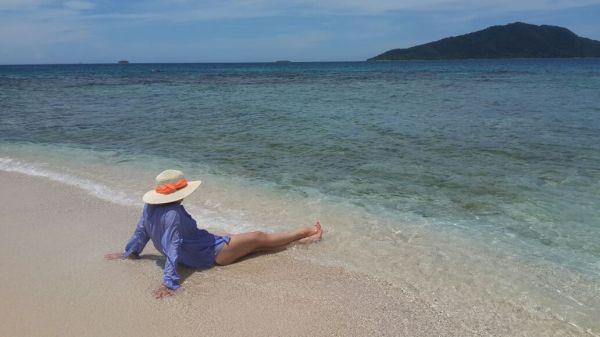 Foto: Hilda Martínez. Cayos Cochinos es una reserva marina encantadora!