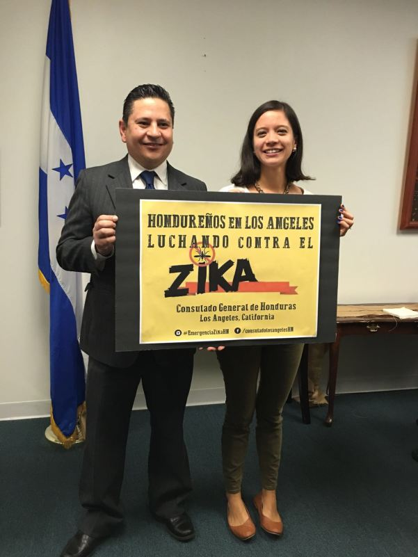Hondureños en Los Ángeles, se unieron desde EEUU a combatir el zika en Honduras