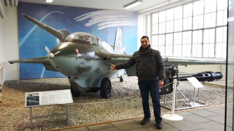 Rafael en el Museo Histórico Alemán, uno de los sitios con nivel más alto en cultura global.