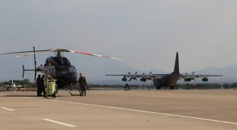 Base Soto Cano en Honduras. Foto: La Prensa, Honduras.