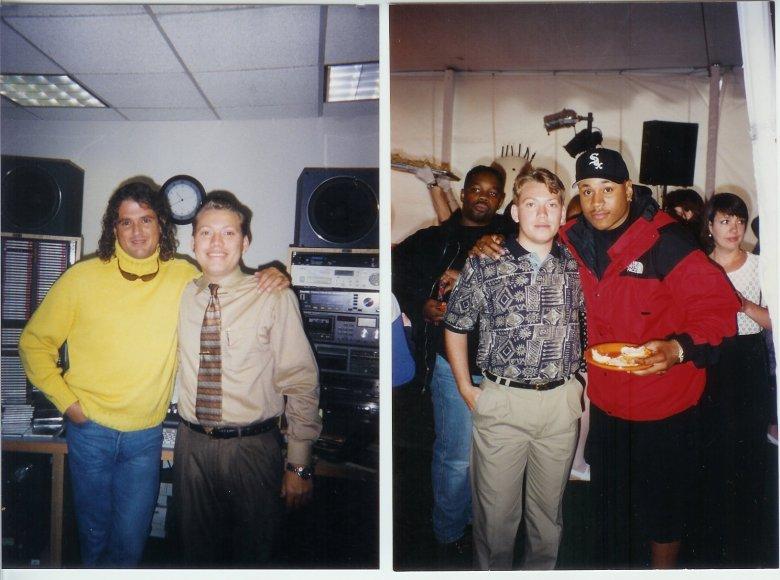 Fotos para el recuerdo del hondureño junto a Carlos Vives y el rapero LLCool