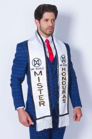Darío Paredes es Mr World Honduras